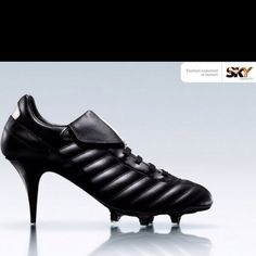 I want these soccer cleats/high heels so bad!!!