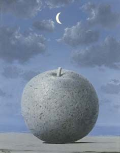 """René Magritte, """"Memory of a Journey"""", 1961"""