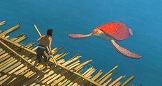"""Für """"Die Rote Schildkröte"""" hat sich Regisseur Michael Dudok de Wit mit dem japanischen Studio Ghibli zusammengetan. So unvereinbar ihre Stile zunächst wirken, so organisch und schön ist das Ergebnis."""