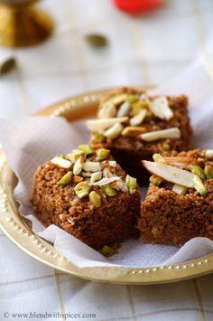 Dodha Burfi Recipe - Punjabi Milk Fudge - Makar Sankranti Recipes - Lohri Special Recipes   Indian Cuisine