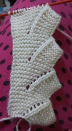 Mix Knitting and Crochet Pattern