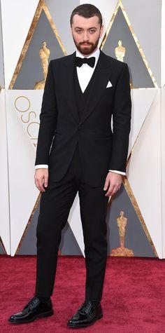 2016 Oscars Red Carpet Photos - Sam Smith - from InStyle.com