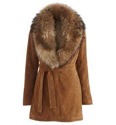 Manteau femme cuir et fourrure pour femme - Vestes sur GDM - Grain de Malice 35cc442e80d