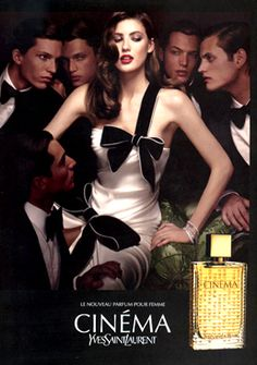YSL Cinema- love this fragrance..but the staying power is not that good unfortunately