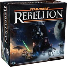 From the publisher: Star Wars: Rebellion is a board game of epic conflict between the Galactic Empire and Rebel Alliance for two to four players! Experience the Galactic Civil War like never before. In Rebellion, you control the entire Galactic Empire or the fledgling Rebel Alliance. You must command starships, account for troop movements, and rally systems to your cause. Given the differences between the Empire and Rebel Alliance, each side has different win conditions, and you'll need...