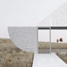 Sculptural pavilion by Johannes Norlander #pavilionarchitecture