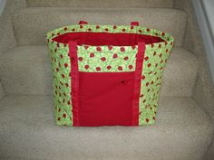 Quilted Lady Bug Bag