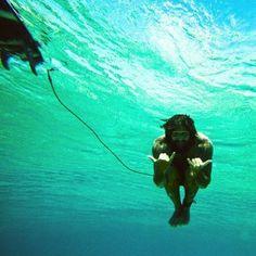underwater shaka