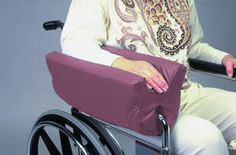 arm support pillows | ... Wheelchair Armrest Accessories Ali-Med Wheelchair Arm Trough