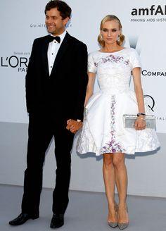 Diane Kruger in Chanel dress