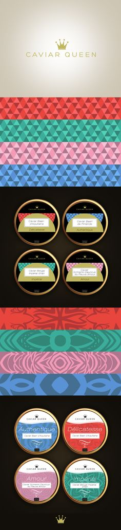 Caviar Queen by giorgia negro, via Behance