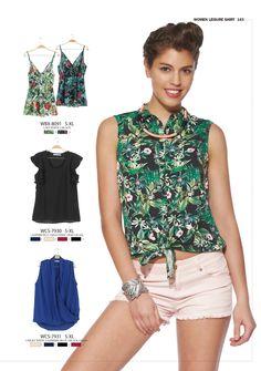 #forwomen #clothing #fashion #glostory #tropical #flowers #shorts #tshirt #top