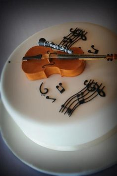 Musical Dessert (Wedding Cake!) - For all your cake decorating supplies, please visit craftcompany.co.uk