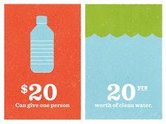 20 days until World Water Day.