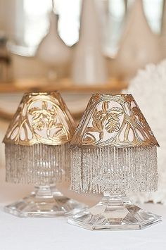 Pretty little tea light holders