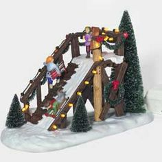 """Department 56: Products - """"City Sledding"""" - View Accessories"""