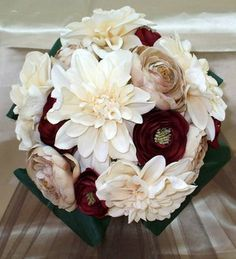 beautiful fall wedding flowers