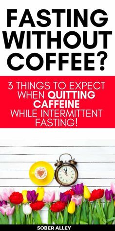 Intermittent fasting for weight loss is all the rage. One of the best intermediate fasting weight loss tips is to drink black coffee to curb your appetite and eat less without dieting! What happens if you want to stop drinking caffeine and still do intermediate fasting? Here are 3 things that happen with you stop drinking coffee or quit caffeine and still try intermittent fasting to lose weight fast in a week or a month!