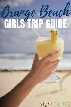 The Only Orange Beach Girls Getaway Guide You Need — sightDOING - Need to choose girls getaway destinations? Look no farther than Orange Beach and Gulf Shores, Alab - Gulf Shores Beach, Gulf Shores Alabama, Beach Trip, Beach Vacations, Beach Bum, Vacation Destinations, Vacation Ideas, Orange Beach Alabama, Beach Bachelorette