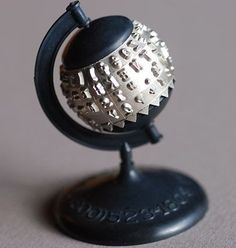 IBM Selectic Typewriter ball globe (date unknown).