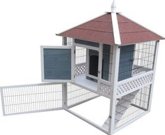 Advantek The Pagoda Rabbit Hutch 21600N #AdvantekMarketing