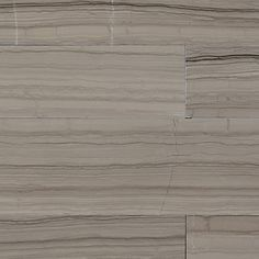 """View the Daltile M744-636V1U Marble Silver Screen 36"""" x 6"""" Vein-Cut Honed Stone Plank Flooring at Build.com."""