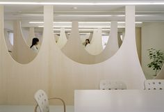 nendo's office is located near the Meguro River in Tokyo, on the fifth floor of an old office building.