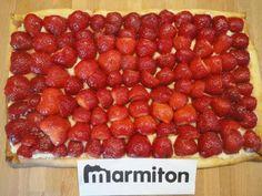 Tarte aux fraises légère : Recette de Tarte aux fraises légère - Marmiton