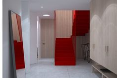 LIP Oversized Mirror, Stairs, Interior Design, Room, Furniture, Home Decor, Nest Design, Bedroom, Stairway