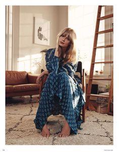 everyday you make me smile: julia stegner by benny horne for vogue germany may 2014