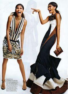 Gucci & Donna Karan