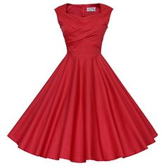 Maggie Tang 50s 60s Vintage Retro Swing Rockabilly Picnic Party Dress Red S Maggie Tang http://www.amazon.com/dp/B00X9SY05G/ref=cm_sw_r_pi_dp_DhgJvb0BH00G5