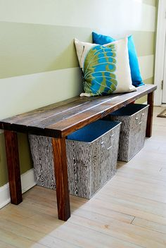 Entry bench for les bebes, and an adult size too