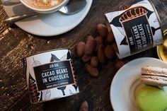 Картонные тубусы для упаковки какао-бобов. Cacao Chocolate, Beans, Tableware, Dinnerware, Tablewares, Dishes, Place Settings, Beans Recipes