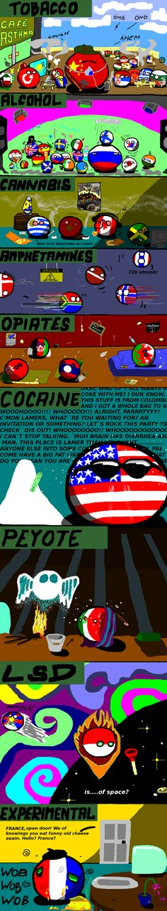 Polandball is of explaining drugs #polandball #countryball #flagball