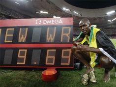 atletismo y algo más: #Recuerdos año 2009. #Atletismo. 3656. Usain Bolt ...