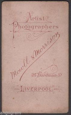 Mowll & Morrison, Artist photographers, Liverpool, England, UK