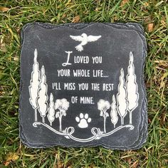 """Pet Loss Necklace """"You left a Memory no one can steal, """" Necklace Dog cat Memorial jewelry Pet Paw P - Pet Memorials & Pet Memorial Gifts White Garden Stones, Memorial Day, Pet Memorial Stones, Memorial Quotes, I Love Dogs, Puppy Love, Love You, My Love, Pet Loss Grief"""