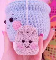 tea cup amigurumi crochet pattern