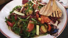 Eén - Dagelijkse kost - salade van kikkererwten, aardappelen en ansjovis