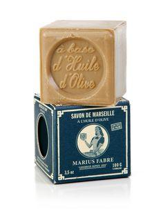 Savon de Marseille à l'huile d'olive - Savonnerie Marius Fabre