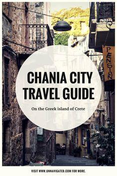 Chania on the Greek island of Crete - City travel guide Greece