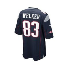 Official New England Patriots ProShop - Youth Nike Wes Welker Game Jersey- Navy New England 9d5308053