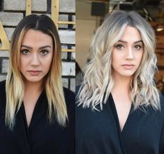 Pin by Sami Lucas on hair Hair Color Balayage, Blonde Balayage, Hair Highlights, Shatush Hair, Pelo Color Plata, Look 2018, Goddess Hairstyles, Brown Blonde Hair, Hair Flip