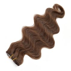 """American Pride Body Wave Clip in Hair 18"""" 6 clips attached"""