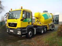 MAN TGS articulated cement mixer truck