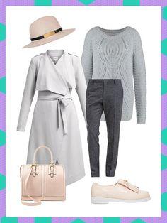 What to wear to work: Dieser Business-Look mit Strickpullover und weicher Stoffhose kombiniert Kuschelfaktor mit Büroalltag.
