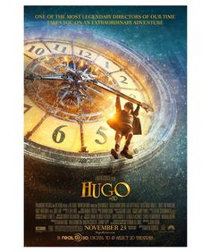2011: Martin Scorsese's treatment of The Invention of Hugo Cabret, about an orphan living in a Paris train station while attempting to decipher a message from his late father, is grand, emotional and visually sumptuous. It's also one of the rare family films that demands to be seen in 3-D. Better than the book, I think....