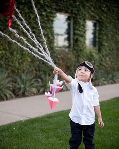 Valentine's Day Ideas: Heart Balloon Anchors
