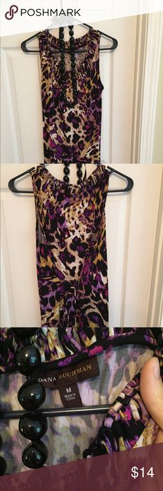 Dana Buchman /Jessica Howard dress bundle 2 great jersey dresses looking for a new home! Fun leopard print jersey dress by Dana Buchman. Size Medium. Comes to just above knees with a thin cloth belt of the same material. Cute design along the neckline. Looks great with a cardigan and boots in the winter and flip flops in the summer. EUC. Worn only a handful of times. Jessica H Teal dress has beautiful detailing on the bodice and neckline. Size 12. Knee length. Worn 2x.  Smoke free/pet…